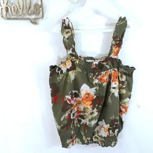 🌷Cato floral seasonal top size M